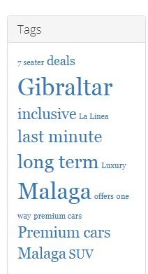 All inclusive Malaga car hire